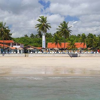Restaurante à beira mar em Maragogi